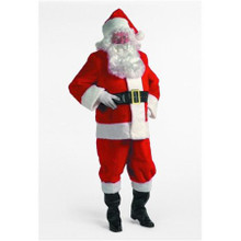Santa Suit Plush Standard (42-48 Jkt)