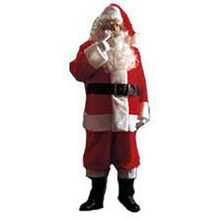 Santa Suit Plush Extra Large (50-56 Jacket)