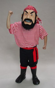 PIRATE MASCOT COSTUME PURCHASE