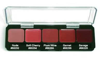 LIP COLOR PALETTE - COOL SHADES