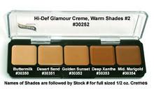 HD GLAMOUR CREME PALETTE - WARM SHADES