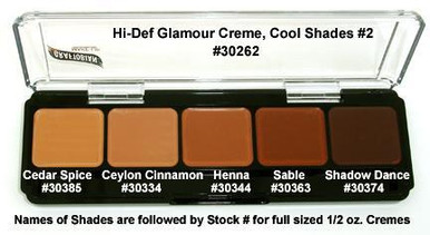 HD GLAMOUR CREME PALETTE - COOL SHADES