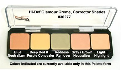 HD GLAMOUR CREME PALETTE - CORRECTOR SHADES