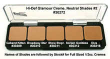 HD GLAMOUR CREME PALETTE - NEUTRAL SHADES