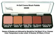 HD GLAMOUR CREME PALETTE - BLUSH