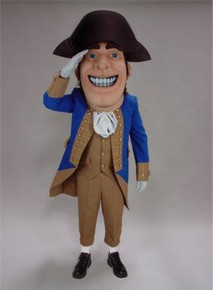 COLONIAL MASCOT COSTUME PURCHASE