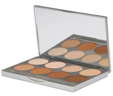 HD PRO POWDER FOUNDATION PALETTE - WARM TONES