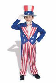 UNCLE SAM COSTUME CHILD