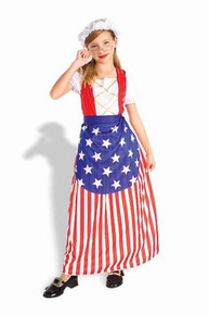 BETSY ROSS COSTUME CHILD