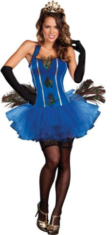 ROYAL PEACOCK COSTUME ADULT