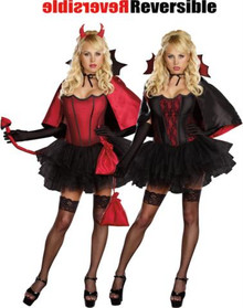 DEVILS NIGHT REVERSIBLE COSTUME ADULT