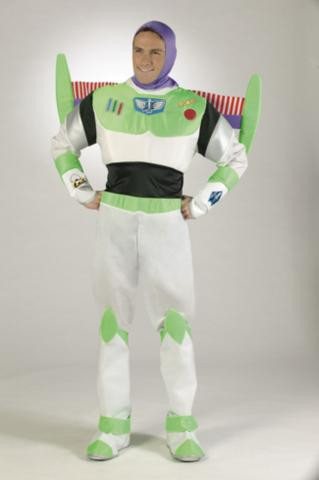 KERRI: Adult buzz costume lightyear