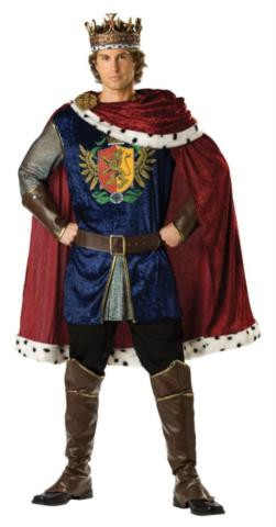 NOBLE KING COSTUME ADULT