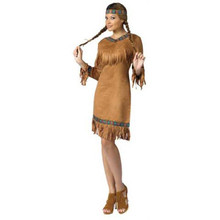 American Indian Woman Costume Adult