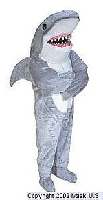 Sharky Mascot Costume (Purchase)