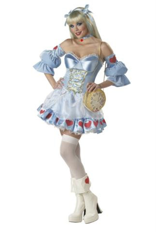 ALICE COSTUME(REBEL TOONS )ADULT*CLEARANCE*