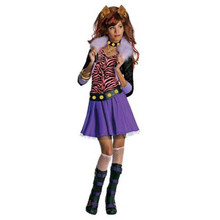 Monster High Costume Child Clawdeen Wolf