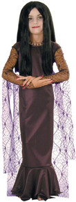 Morticia Addams Costume Child