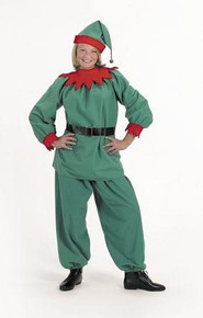 ELF SUIT COSTUME ADULT 9-11 *CLEARANCE*