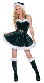STOCKING STUFFER ELF COSTUME ADULT