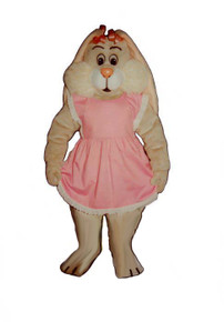 Bunny Mascot Costume (Purchase/Rental) Tan Floppy Ears