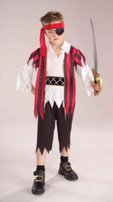 PIRATE BOY COSTUME CHILD