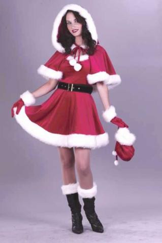 SANTA BABY COSTUME SEXY ADULT SML/MED 2-8