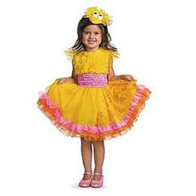 Sesame Street Frilly Big Bird Child Costume