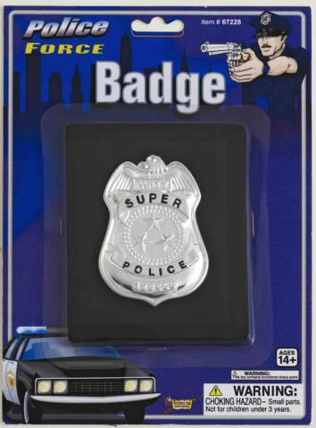 WALLET W/POLICE BADGE