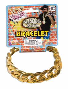 BRACELET BIG LINKED GOLD