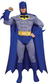 BATMAN BRAVE DELUXE MUSCLE ADULT