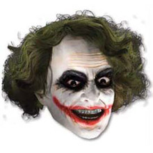 Joker 3/4 Vinyl Mask W/ Hair
