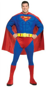 Superman Muscle Chest Plus Size Costume