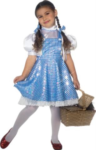 WIZARD OF OZ DOROTHY DELUXE TODDLER COSTUME
