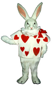 Heart Bunny Mascot Costume (Purchase/Rental)
