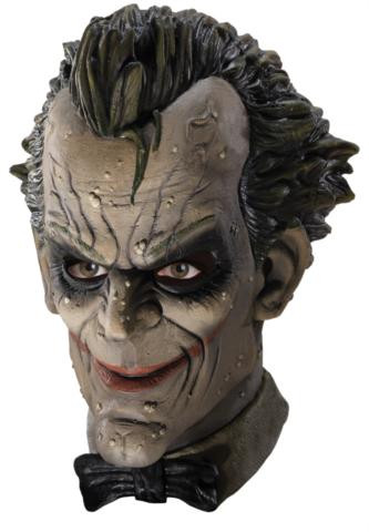 JOKER ARKHAM CITY LATEX MASK