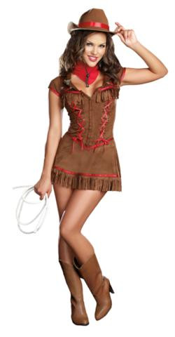COWGIRL COSTUME GIDDY UP ADULT