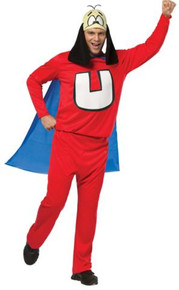 UNDERDOG COSTUME ADULT STD