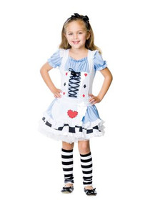 ALICE IN WONDERLAND COSTUME CHILD