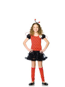 DAISY LADY BUG COSTUME CHILD