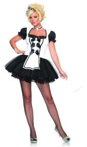 MISTRESS MAID COSTUME ADULT