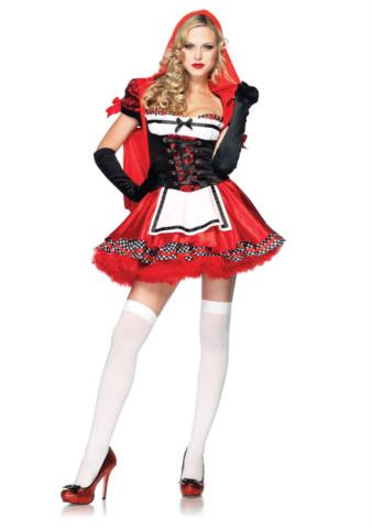 DIVINE MISS RED COSTUME ADULT