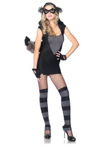 RACCOON COSTUME ADULT