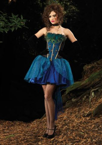 PEACOCK PRINCESS COSTUME DLX ADULT