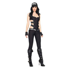 Swat Sniper Sexy Adult Costume Large 12-14