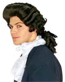 Brown Colonial Man Wig