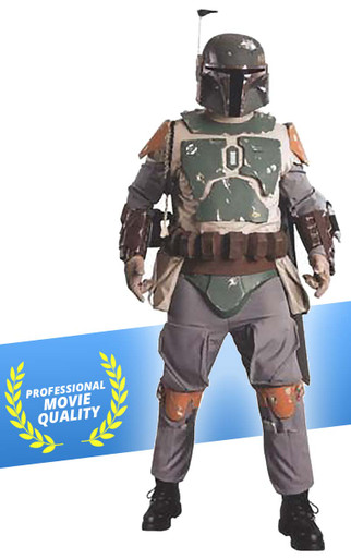 Boba Fett Costume Authentic Star Wars Supreme Edition