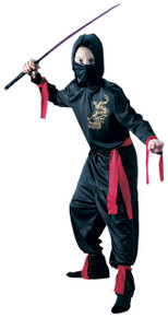 Ninja Child Costume Black