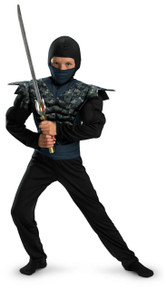 Ninja Night Camo Child Costume Small