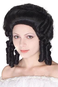 WIG COLONIAL LADY BLACK